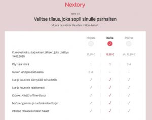 Nextory Black Friday